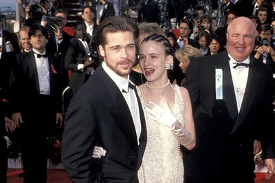 Brad was a just a youngster when he attended his first awards with then-girlfriend, 16-year-old Juliette Lewis (oh those cornrows!)