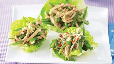 "<a href=""http://kitchen.nine.com.au/2016/05/13/11/04/thai-chicken-lettuce-wraps"" target=""_top"">Thai chicken lettuce wraps</a> recipe"