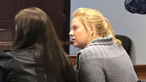 Cassie during her most recent court appearance. (AAP)