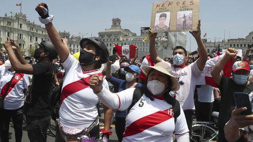 Peru's interim president resigns as chaos embroils nation
