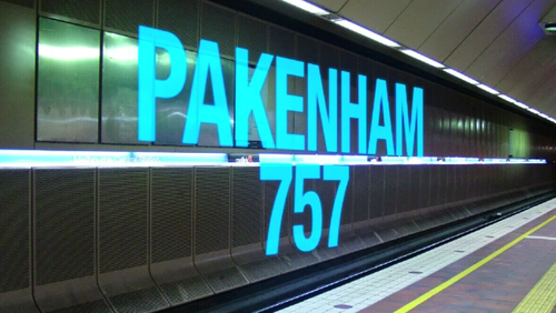 And on the Pakenham line there were even more cancellations. (9NEWS)