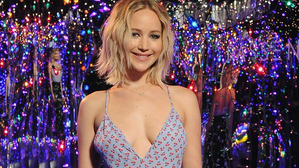 Christian Dior ambassador Jennifer Lawrence. Image: Getty