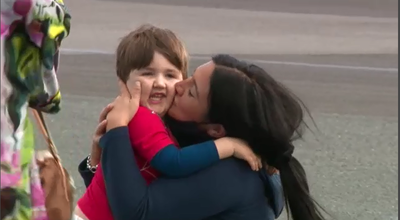 Child reunited with mum in Queensland after border closure