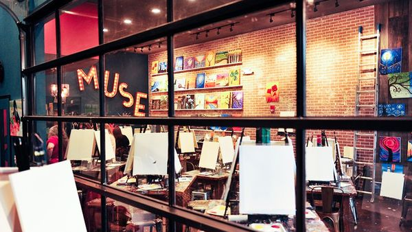 Muse Paintbar in Tribeca (supplied)