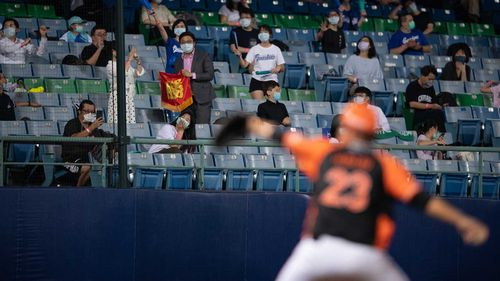 Taiwan is now allowing as many as 1000 spectators at professional baseball games.
