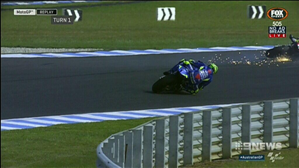 Marquez has one hand on trophy after Australia MotoGP win
