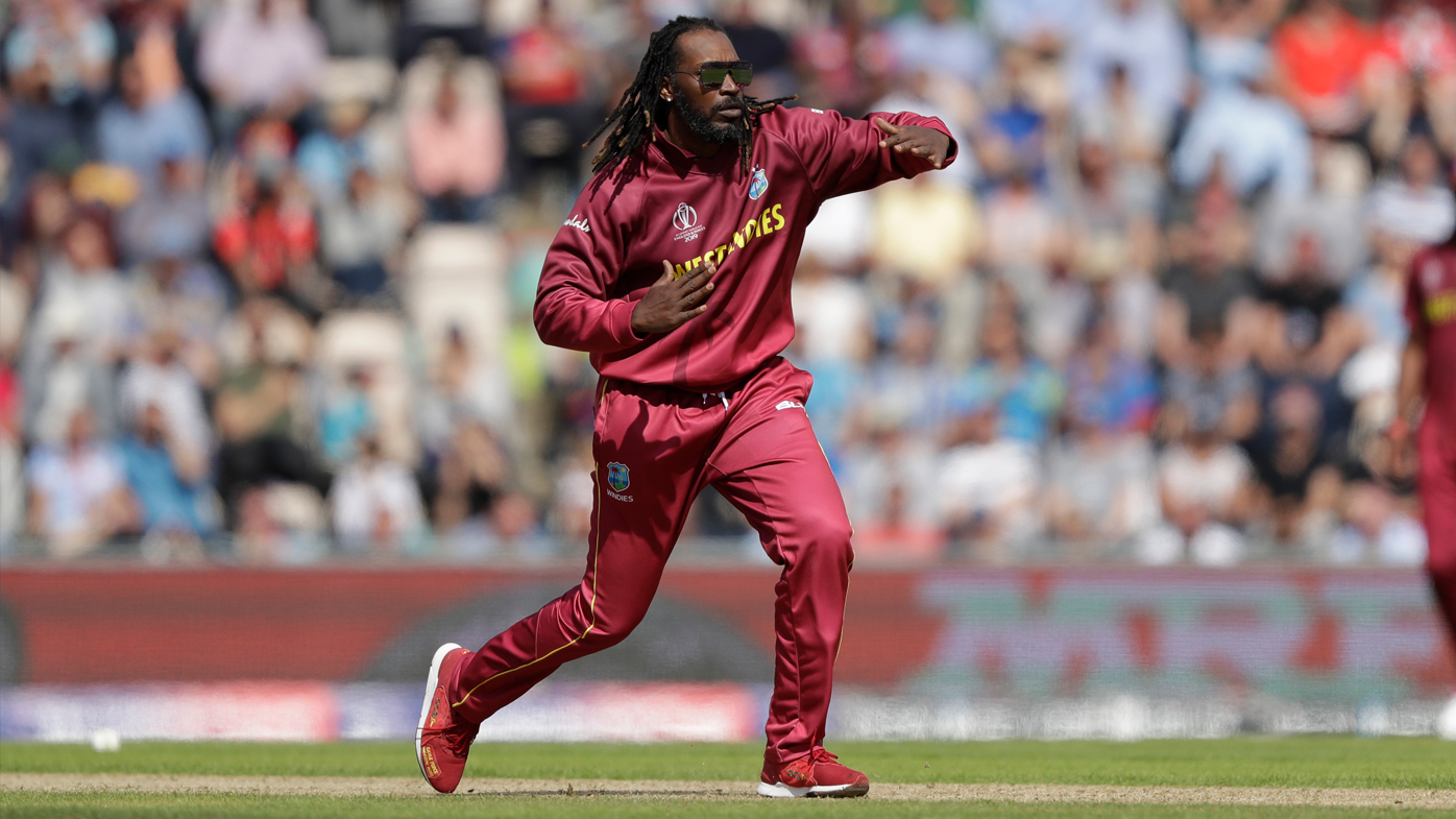 Chris Gayle steals the show with bowling antics against England