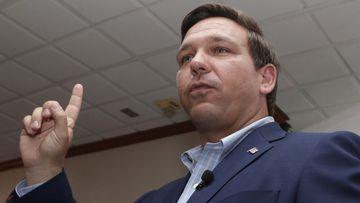 Republican gubernatorial nominee Ron DeSantis.
