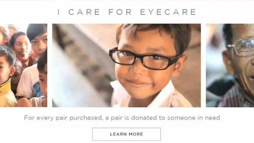 Eyewear brand under investigation for 'misleading charity claims'