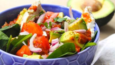 "Recipe: <a href=""http://kitchen.nine.com.au/2016/11/18/16/59/susie-burrells-hangover-cure-mexican-salad"" target=""_top"">Susie Burrell's hangover cure Mexican chicken salad</a>"