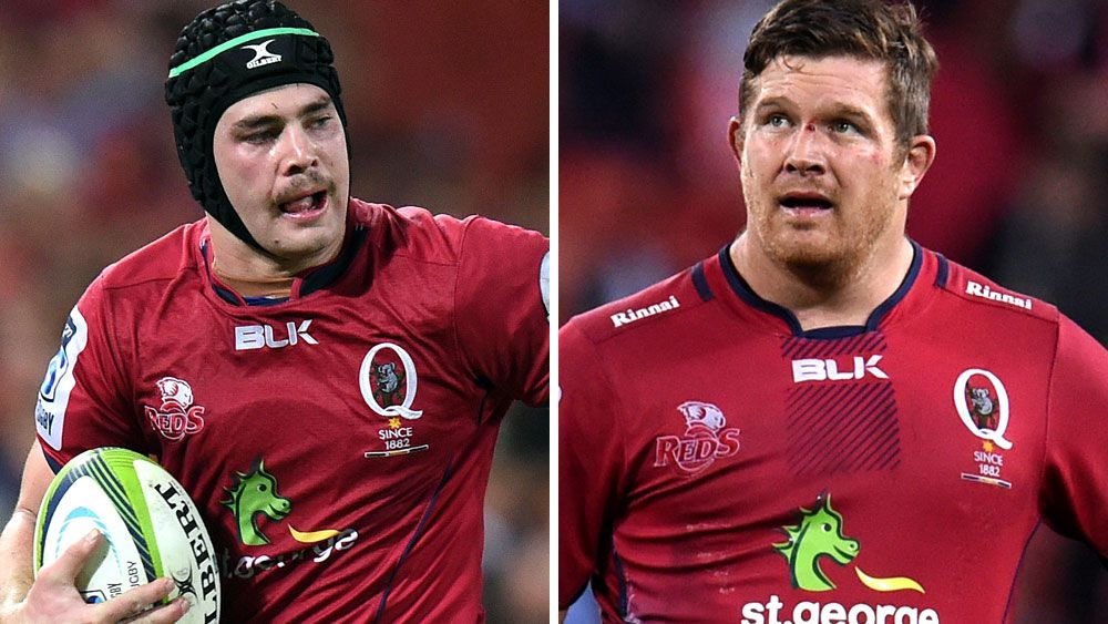 Liam Gill and Greg Holmes have been released to join clubs in Europe. (AAP)