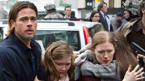 Brad Pitt in World War Z trailer