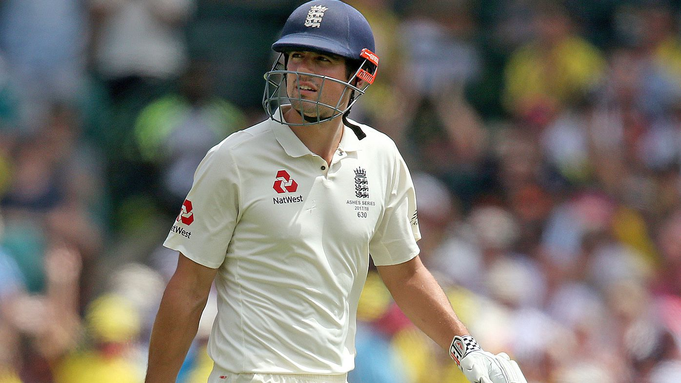England Test opener Alastair Cook suspected ball-tampering by Australia during the Ashes