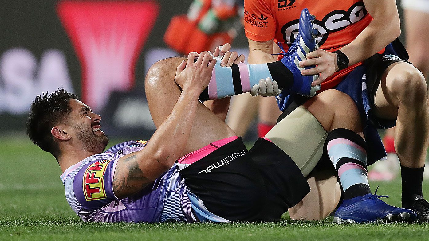 Three major injuries derail Cronulla's title hopes, with Shaun Johnson rupturing his Achilles