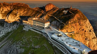 Switzerland, home to the most incredible mountaintop hotels
