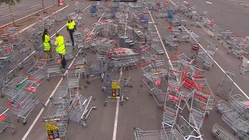 Supermarkets to face fines in Adelaide suburbs for trolley dumpers