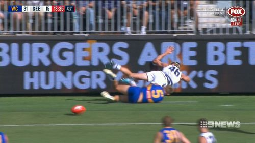 """The AFL Football Operations Manager has described both incidents are """"extraordinary"""". (9NEWS)"""