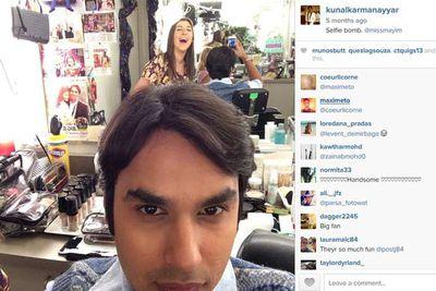 @kunalkarmanayyar: Selfie bomb @missmayim