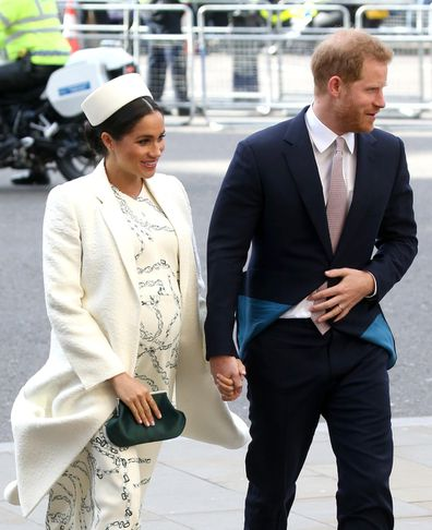 The Duke and Duchess of Sussex announced the pregnancy during the Pacific tour in 2018.