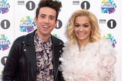 Rita Ora co-hosted the event with DJ Nick Grimshaw.