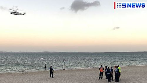 A man has drowned while diving in Brighton Le Sands. (9NEWS)