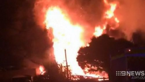 Fire investigators said the house was gutted. (9NEWS)