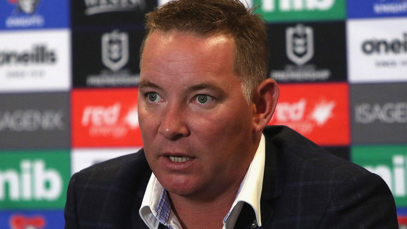 Newcastle coach Adam O'Brien
