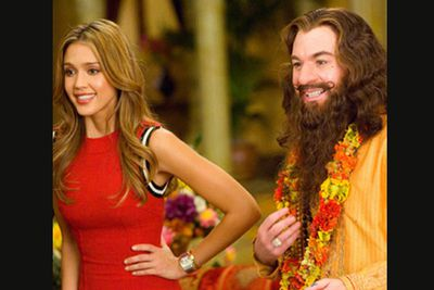 <b>Movie:</b> <i>The Love Guru</i><br/>With the<i> Shrek</i> films his only saving grace in recent years, Mike Myers needed real spiritual guidance to steer him away from this shocker. As a self-help guru with romantic healing powers, Myers won the Razzie for Worst Actor, while the movie itself won Worst Picture and Worst Screenplay (co-written by Myers... ouch!). Unfortunately the guru couldn't heal the critics' and audiences' opinions!