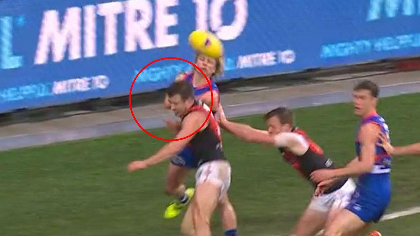 Bulldogs thump Bombers in Tasmania, but AFL world fumes at controversial free kicks