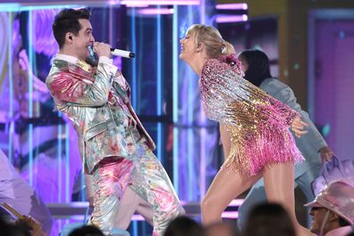 Taylor Swift and Brendan Urie