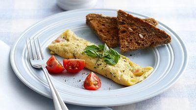 """Recipe: <a href=""""http://kitchen.nine.com.au/2016/05/16/13/32/egg-white-omelette"""" target=""""_top"""">Egg white omelette</a>"""