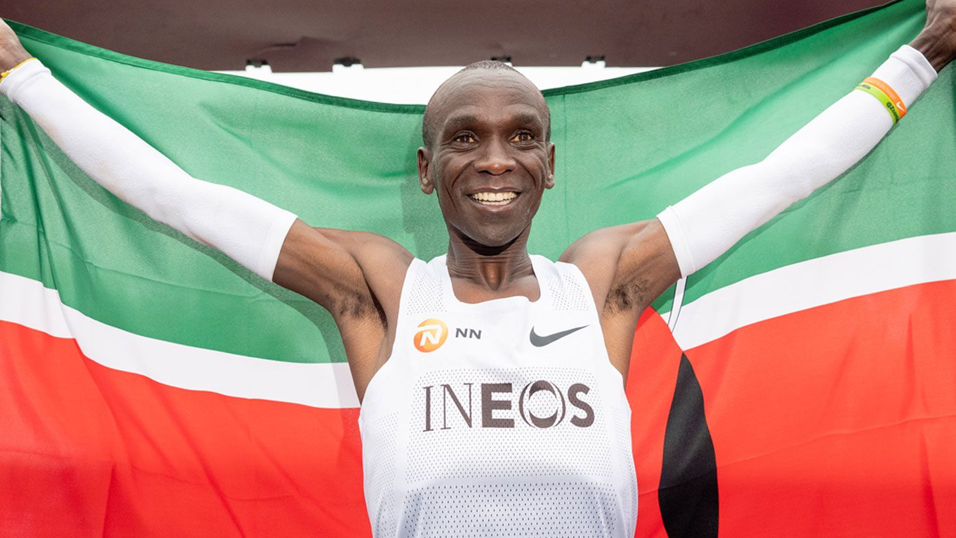 Kipchoge breaks the two-hour marathon