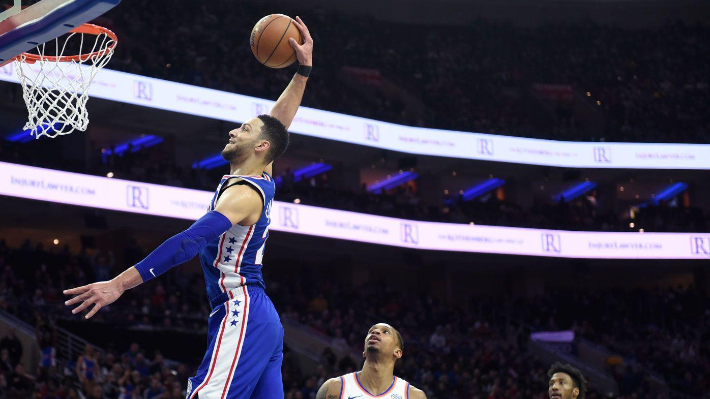 Simmons, Ingles fire again in NBA