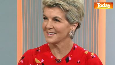 Julie Bishop said focus needs to be placed on people, not politics.