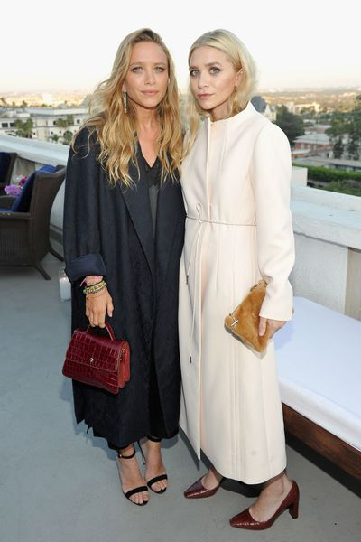 Designer Mary Kate and Ashley Olsen