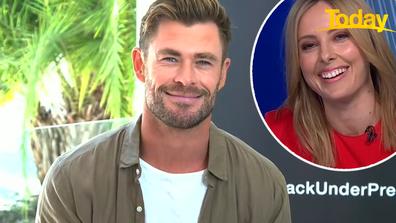 Chris Hemsworth on Today.