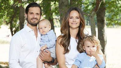 Prince Carl Philip and Princess Sofia have two sons