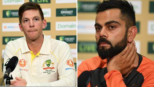 Adelaide cricket Test Tim Paine Virat Kohli