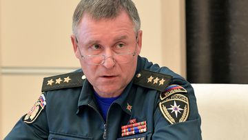 Russian Emergency Situation Minister Yevgeny Zinichev died during a training exercise in the Arctic.