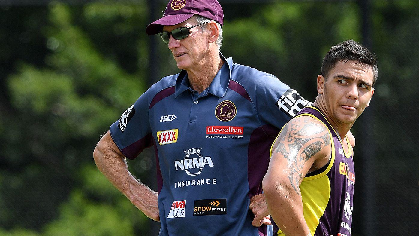 Brisbane Broncos coach Wayne Bennett to stick with Jack Bird in halves at Kodi Nikorima's expense