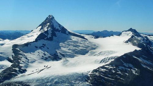 The 29-year-old has endured brutal weather during his week on the mountain. Picture: Summit Post