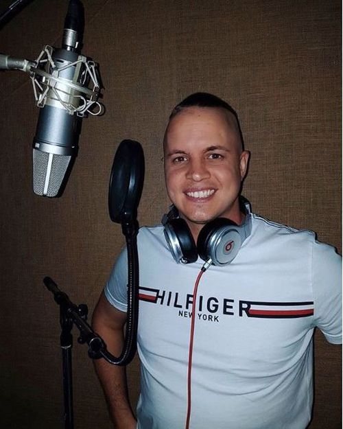 Ruffo has also been able to re-enter the recording studio after up to eight months of being unable to work. Picture: Instagram/Johnny Ruffo.