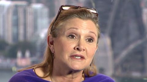 Carrie Fisher chats with Richard Wilkins on the role that made her famous
