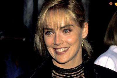 Sharon Stone, the all-American bombshell.