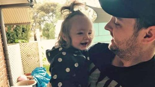 Evie is now almost two years old and doing well, her dad Shane McMahon says.