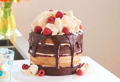 Katherine Sabbath's layered lamington sponge cake