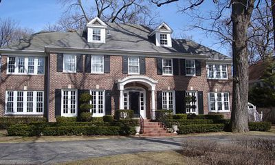 <strong>The McCallisters' Chicago mansion from Home Alone (1990)</strong>