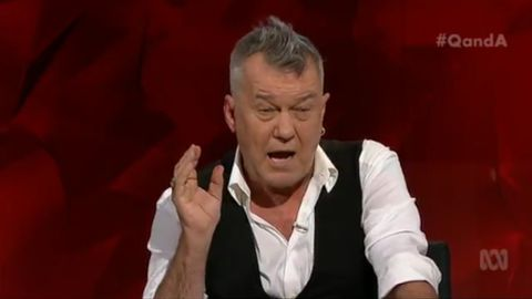 Jimmy Barnes talks about his addiction struggles on Q&A
