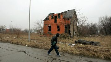 Detroit is full of vacant houses and empty lots.