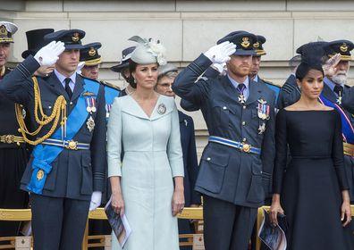 Duke and Duchess of Sussex and Duke and Duchess of Cambridge.